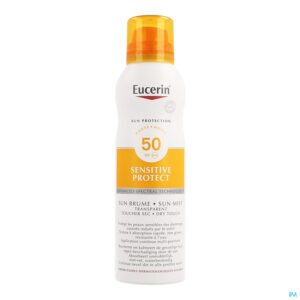 Packshot Eucerin Sun Invisible Mist Dry Touch Ip50+ 200ml