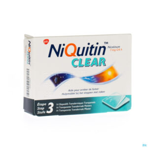 Packshot Niquitin Clear Patches 14 X 7mg